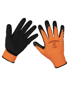 Sealey Foam Latex Gloves (Large) - Pack of 12 Pairs
