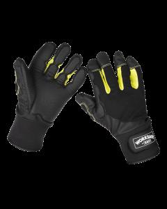 Sealey Anti-Vibration Gloves Large - Pair