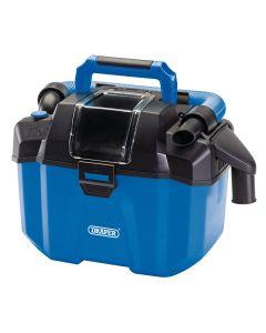 Draper - D20 20V Wet and Dry Vacuum Cleaner – Bare