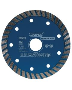 Draper - Turbo Diamond Blade (125mm)