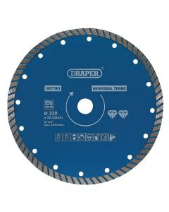 Draper - Turbo Diamond Blade (230mm)