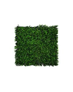 Artificial Green Wall Hedge with Small Light Green Leaf Foliage (Pack of 4)