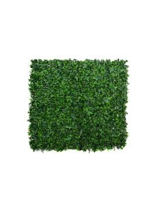 Artificial Green Wall Hedge with Dark Ivy Leaf Foliage (Pack of 4)