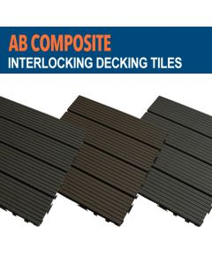 AB Composite Decking Tile Samples