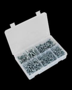 Sealey Machine (Body) Screw Assortment 264pc M5-M8 Countersunk DIN