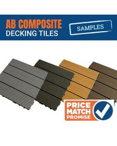 AB Composite Decking Tiles Samples