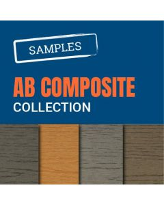 AB Composite Decking Hollow Samples