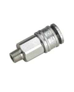 """Sealey Coupling Body Male 1/4""""BSPT AC30"""