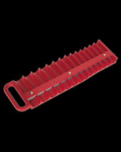 "Sealey Socket Retaining Tray Magnetic 3/8""Sq Drive Capacity 28 Sock"