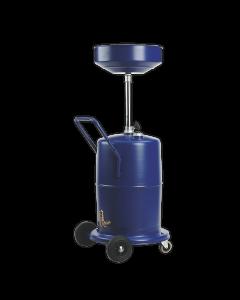 Sealey Mobile Oil Drainer 75L Pump Away