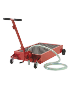 Sealey Low Level Oil Drainer 64L with Pump