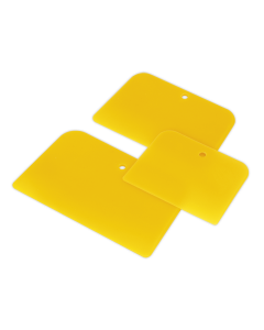 Sealey Body Filler Applicator Set 3pc