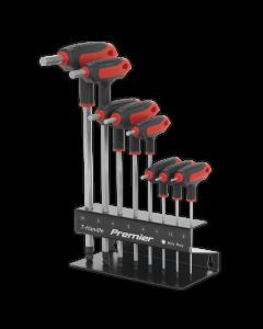 Sealey Ball-End Hex Key Set 8pc T-Handle Metric AK7195