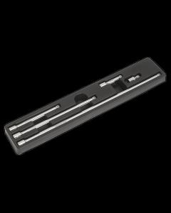 """Wobble Extension Bar Set 5pc 3/8""""Sq Drive"""