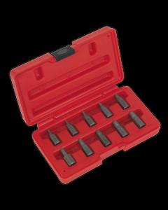 Sealey Multi-Spline Screw Extractor Set 10pc