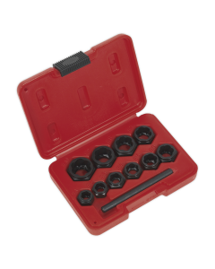Sealey Bolt Extractor Set 11pc Spanner Type