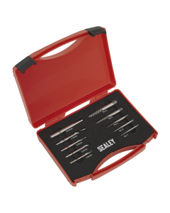 Sealey Step Drill Screw/Bolt Extractor Set 10pc
