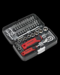 """Socket & Bit Set 38pc 1/4""""Sq Drive"""