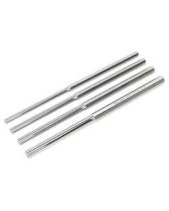 Sealey Parallel Pin Punch Set 4pc Extra-Long