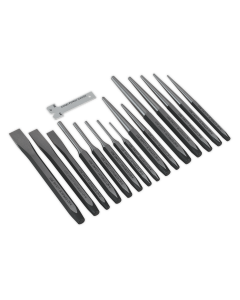 Sealey Punch & Chisel Set 16pc