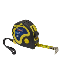 Sealey Rubber Tape Measure 3m(10ft) x 16mm - Metric/Imperial