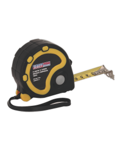 Sealey Rubber Tape Measure 7.5m(25ft) x 25mm Metric/Imperial