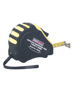 Sealey Autolock Tape Measure 7.5m(25ft) x 25mm - Metric/Imperial