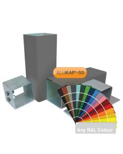 Alukap-SS Complete post & bracket kit 3000mm PC