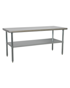 Stainless Steel Workbench 1.8m