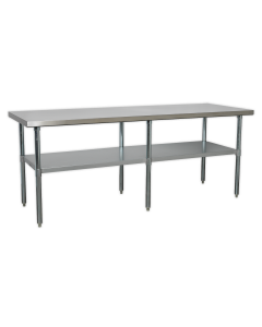 Stainless Steel Workbench 2.1m