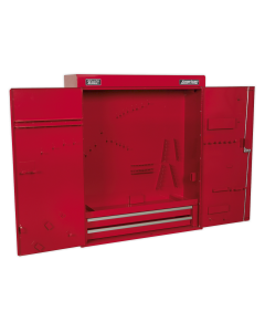 Sealey Wall Mounting Tool Cabinet with 2 Drawers