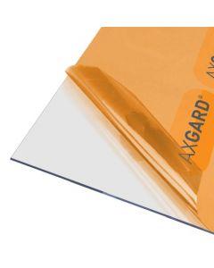 Axgard Clear 2mm UV Protect Polycarb 1250 x 620mm