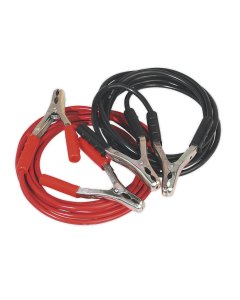 Sealey Booster Cables 25mm² x 5m Copper 600A
