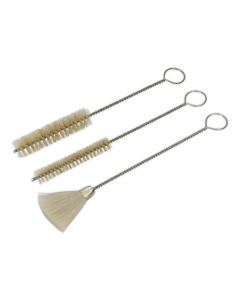 Sealey Spray Gun Cleaning Brush Set 3pc