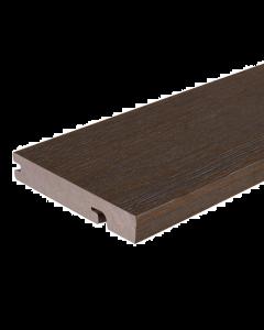 NewTechWood UltraShield Composite Decking Walnut 2.2m Bullnose