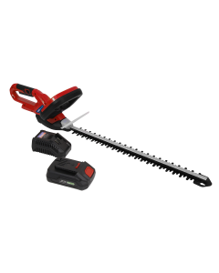 Sealey Hedge Trimmer Cordless 20V with 2Ah Battery & Charger