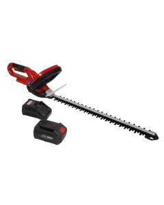 Sealey Hedge Trimmer Cordless 20V with 4Ah Battery & Charger