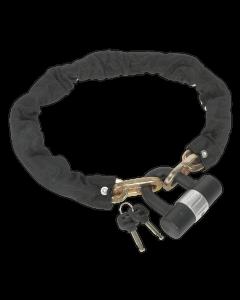 Motorcycle Chain & Disc Lock 12 x 12 x 900mm