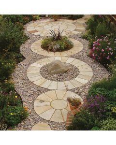 Strata Stone - Classic Circle - Mint