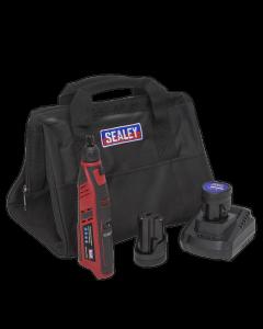 Sealey Cordless Rotary Tool & Engraver Kit 49pc 12V