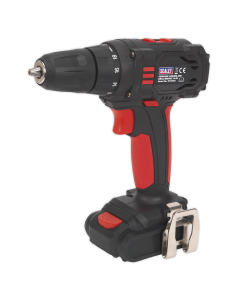 Sealey Cordless Drill/Driver Ø10mm 14.4V 1.3Ah Lithium-ion 2-Speed