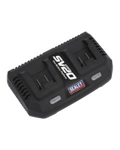 Sealey Dual Battery Charger 20V Lithium-ion for SV20 Series
