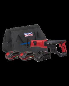 Sealey Cordless Reciprocating Saw Kit 20V - 2 Batteries