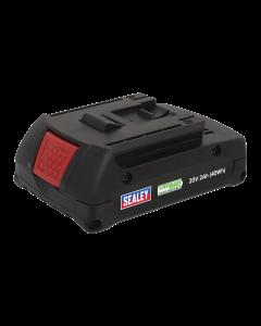 Sealey Power Tool Battery 20V 2Ah Li-0ion for CP314