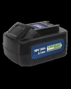 Sealey Power Tool Battery 18V 3Ah Li-ion for CP400LI & CP440LIHV