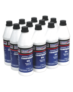 Compressor Oil 1L - Pack of 12