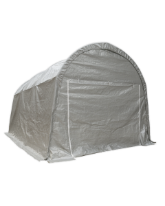 Sealey Dome Roof Car Port Shelter 4 x 6 x 3.1m