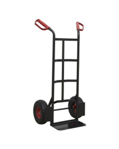 Sealey Heavy-Duty Sack Truck with PU Tyres 250kg Capacity