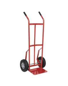 Sealey Sack Truck with Pneumatic Tyres 200kg Capacity CST987