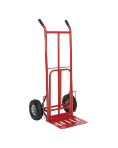 Sealey Sack Truck with Pneumatic Tyres & Foldable Toe 250kg Capacit